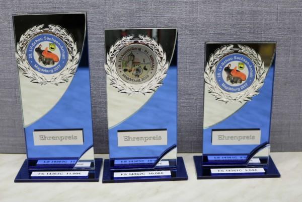3-er Serie Spiegelglasständer - FS 14361-FS 14363