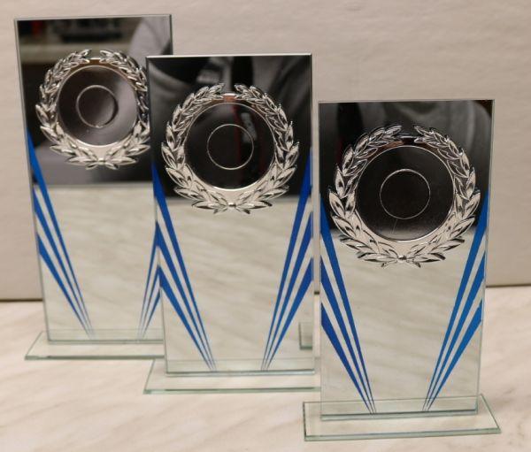 3-er Serie Glasständer - Spiegelglas FS 120-21-23