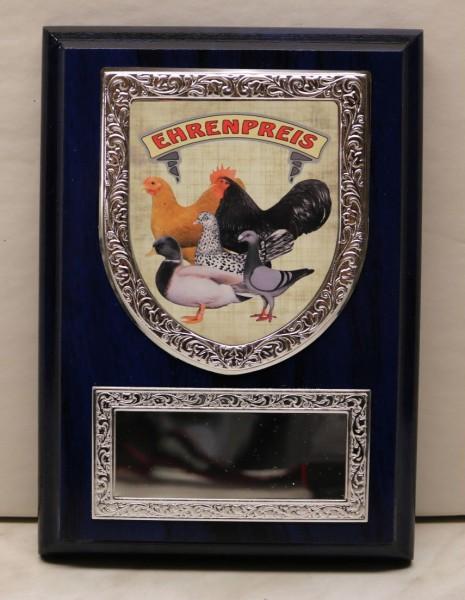 Ehrentafel mit Wappen ET 175x125W