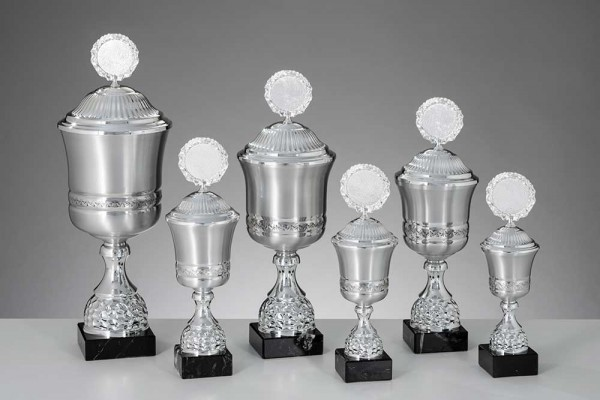 Edle Aluminium-Pokale 6-er Serie ST 57820