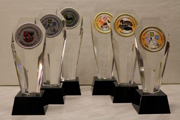3-er Serien Glaspfeiler ST67740-ST67742