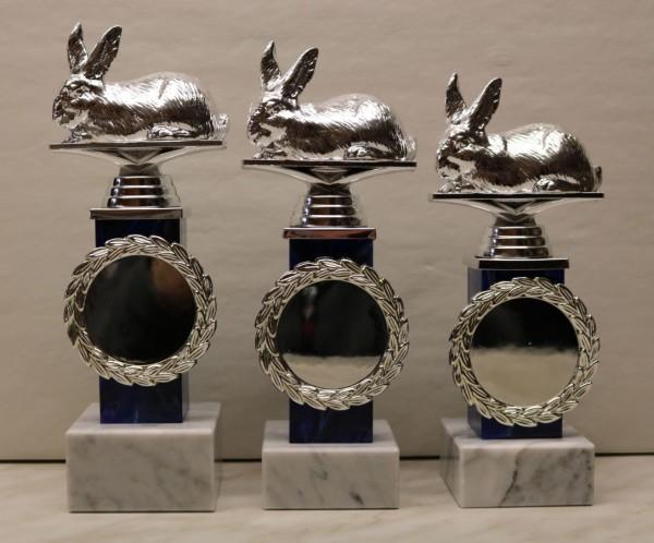 3-er Serie Pokalständer Kaninchen ST 36011-13K