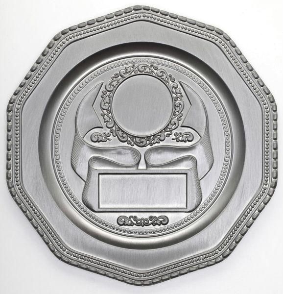 Metallteller für Emblem ST 1073