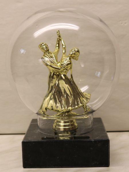 Ehrenpreis Tanzpaar in Glaskugel STTa