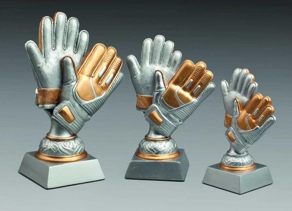 "3-er Serie Figur ""Torwarthandschuhe"" ST 38701-ST 38703"