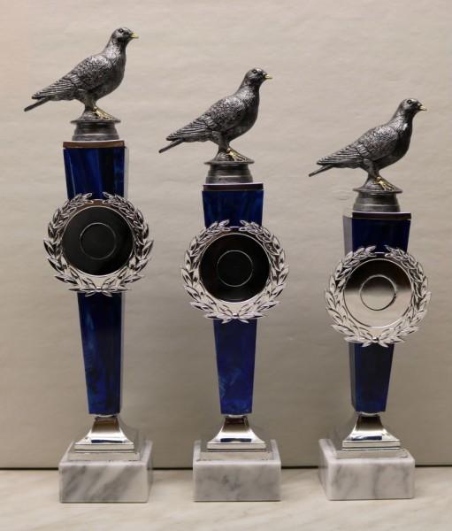 3-er Serie Pokalständer Tauben ST 36451-53T